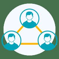 Interaktion mit Kunden